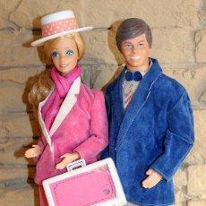 Barbie y Ken: ANTIGUOS MUÑECOS BARBIE Y KEN DIA Y NOCHE - ROTOPLAST - VENEZUELA - AÑO 1985 - MUY DIFICILES. Lote 238715290