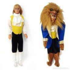 Barbie e Ken: PRÍNCIPE/LA BESTIA, MATTEL Y DISNEY 1991. Lote 239723575
