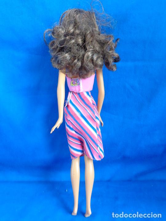 Barbie y Ken: BARBIE - BONITA BARBIE NEGRITA AÑO 2003, MADE IN CHINA VER FOTOS! SM - Foto 5 - 240468170