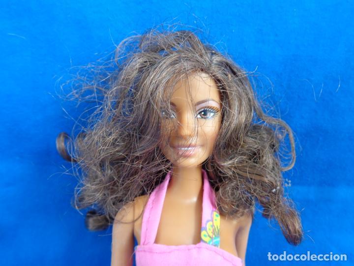 Barbie y Ken: BARBIE - BONITA BARBIE NEGRITA AÑO 2003, MADE IN CHINA VER FOTOS! SM - Foto 6 - 240468170