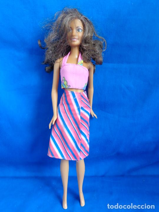 Barbie y Ken: BARBIE - BONITA BARBIE NEGRITA AÑO 2003, MADE IN CHINA VER FOTOS! SM - Foto 7 - 240468170