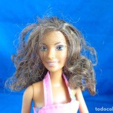 Barbie y Ken: BARBIE - BONITA BARBIE NEGRITA AÑO 2003, MADE IN CHINA VER FOTOS! SM. Lote 240468170