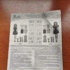Barbie y Ken: INSTRUCCIONES BARBIE MOD. CCN12 Y CDH42 - (C)MATTEL 2014. Lote 240782675