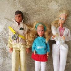 Barbie y Ken: MUÑECA BARBIE KEN Y SKIPPER AÑOS 80. Lote 241228915