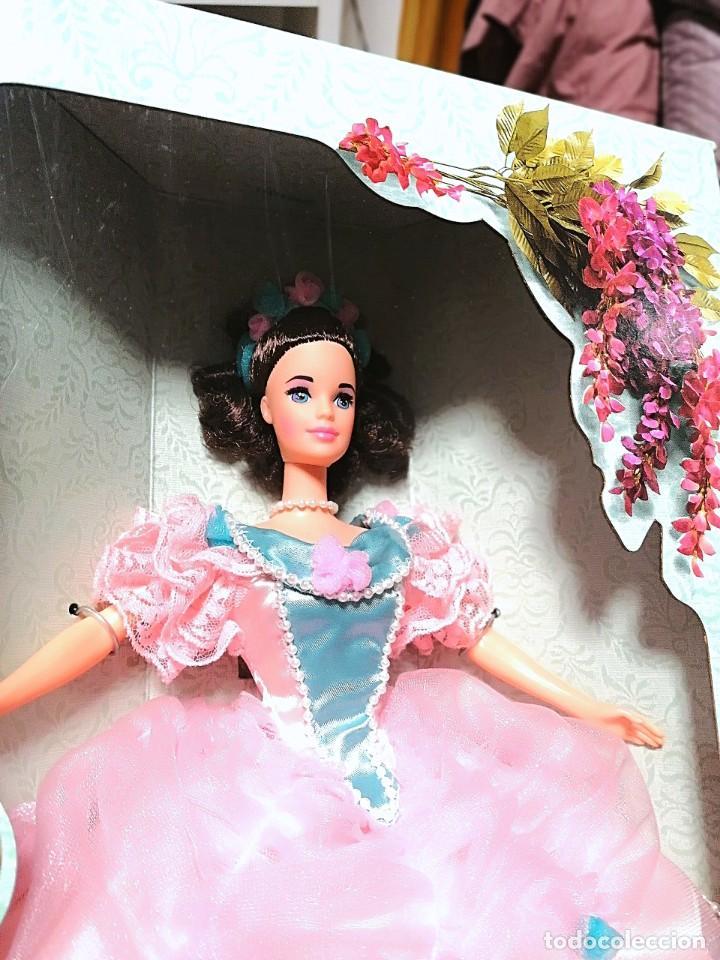 Barbie y Ken: Barbie de colección Southern Belle 1850s nueva en caja - Foto 2 - 244432260