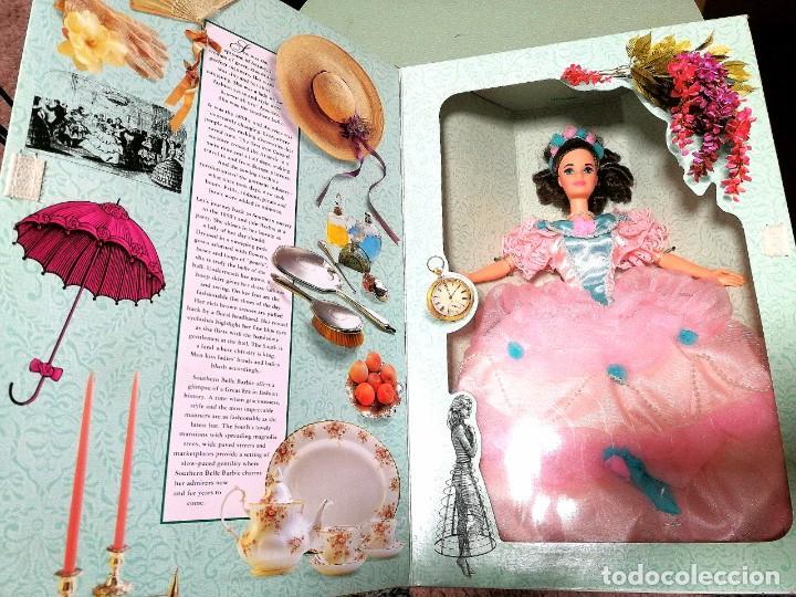 Barbie y Ken: Barbie de colección Southern Belle 1850s nueva en caja - Foto 5 - 244432260