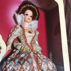 Barbie y Ken: BARBIE DE COLECCIÓN ELIZABETHAN QUEEN NUEVA EN CAJA. Lote 244433185