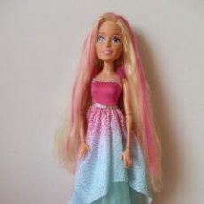 Barbie y Ken: MUÑECA BARBIE GRAN PRINCESA. MIDE 43 CM. DE MATTEL.. Lote 244721890
