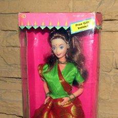 Barbie y Ken: BARBIE IN INDIA - FABRICADA POR LEO TOYS - MATTEL - NUEVA A ESTRENAR - MUY DIFICIL. Lote 245411355