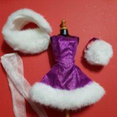 Barbie y Ken: CONJUNTO VESTIDO BARBIE FASHION AVENUE. Lote 245593250