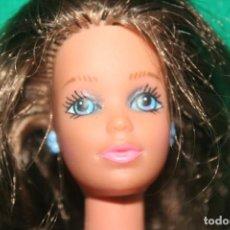 Barbie y Ken: ANTIGUA MUÑECA BARBIE MORENA MADE IN SPAIN. Lote 248046575