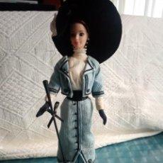 Barbie e Ken: BARBIE MATTEL 1991 PASEO EN EL PARQUE BARBIE GRANDES MODAS DEL SIGLO XX 1910S. Lote 251848950