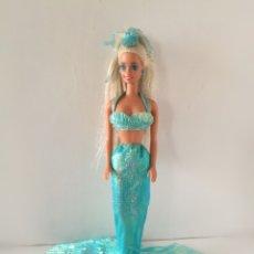 Barbie y Ken: BARBIE MERMAID SIRENA MÁGICA 1991 AZUL AÑOS 90. Lote 269244828