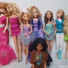 Barbie y Ken: MATTEL. LOTE DE 11 MUÑECAS. BARBIE.. Lote 252944855