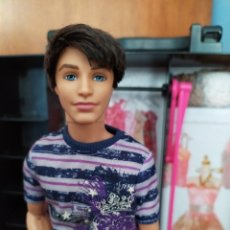 Barbie y Ken: MUÑECO KEN RYAN FASHIONISTA CLUTH WAVE 1. Lote 253176695