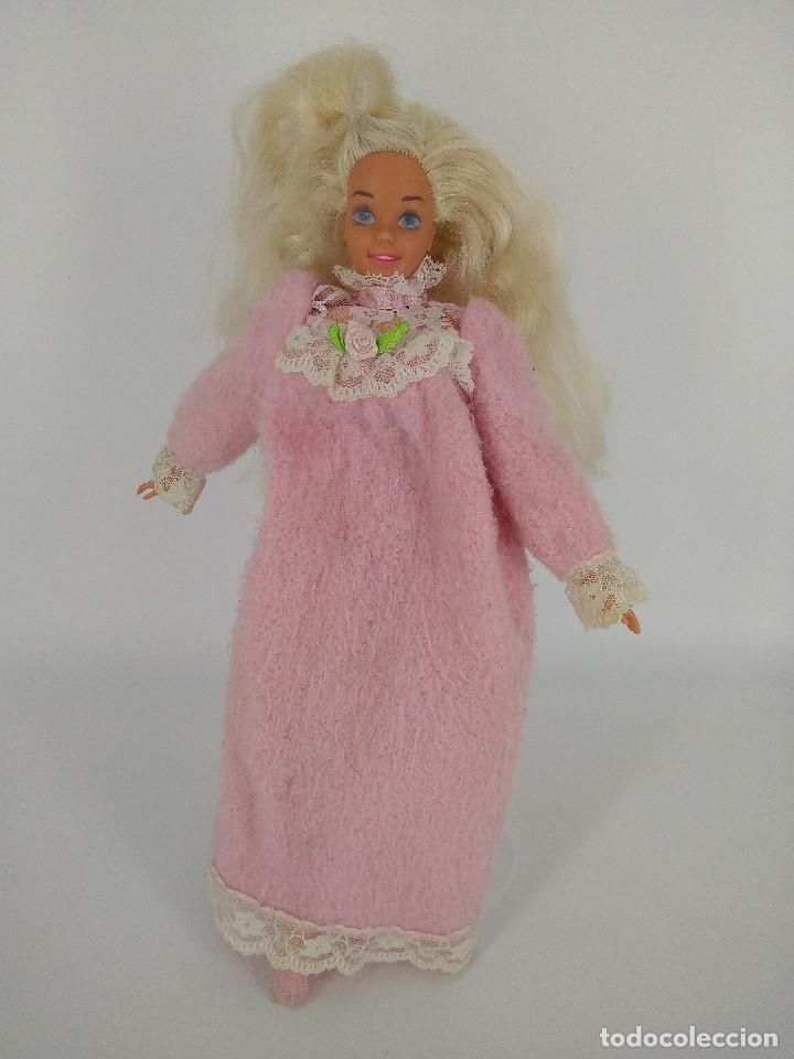 Barbie y Ken: Barbie Bedtime / Dulces sueños con camisón original - Mattel, 1994 - Foto 2 - 256079370