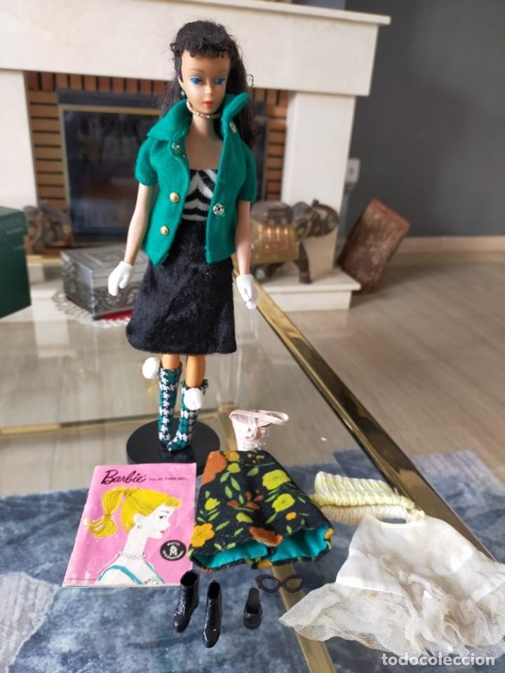 BARBIE TEEN AGE FASHION MODEL WITH PENDIENT STOCK Nº 850 BRUNETTE JAPAN (Juguetes - Muñeca Extranjera Moderna - Barbie y Ken)