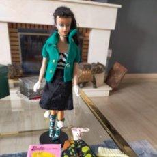 Barbie y Ken: BARBIE TEEN AGE FASHION MODEL WITH PENDIENT STOCK Nº 850 BRUNETTE JAPAN. Lote 257653145