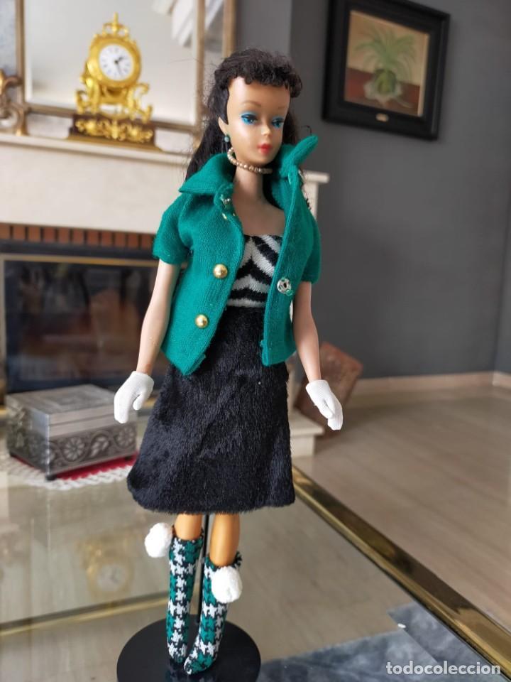 Barbie y Ken: BARBIE TEEN AGE FASHION MODEL WITH PENDIENT STOCK Nº 850 BRUNETTE JAPAN - Foto 6 - 257653145