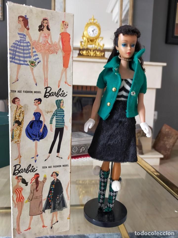 Barbie y Ken: BARBIE TEEN AGE FASHION MODEL WITH PENDIENT STOCK Nº 850 BRUNETTE JAPAN - Foto 7 - 257653145