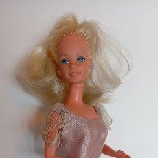 Barbie et Ken: MUÑECA BARBIE CONGOST 1966 SUPER STAR? CEJAS MORADAS. Lote 260580505