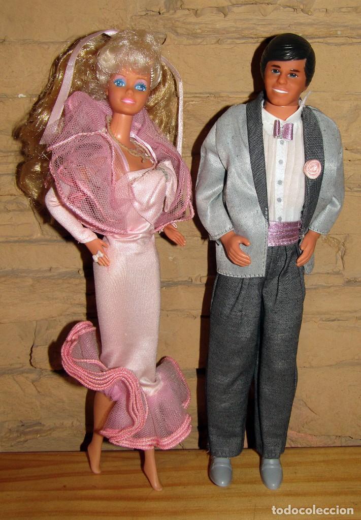 BARBIE Y KEN FRAGANCIA - MATTEL SPAIN - TODO ORIGNIAL - AÑO 1987 - MUY BUEN ESTADO (Juguetes - Muñeca Extranjera Moderna - Barbie y Ken)