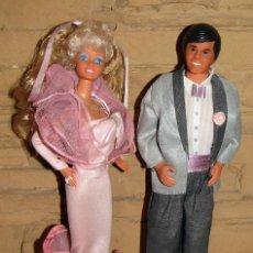 Barbie y Ken: BARBIE Y KEN FRAGANCIA - MATTEL SPAIN - TODO ORIGNIAL - AÑO 1987 - MUY BUEN ESTADO. Lote 262018225