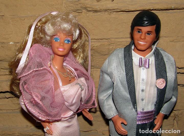 Barbie y Ken: BARBIE Y KEN FRAGANCIA - MATTEL SPAIN - TODO ORIGNIAL - AÑO 1987 - MUY BUEN ESTADO - Foto 2 - 262018225