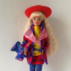 Barbie et Ken: BARBIE BENETTON RUBIA SPAIN 1999 AÑOS 90. Lote 262439480