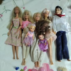 Barbie y Ken: LOTE MUÑECAS BARBIE O SIMILAR. Lote 262964370