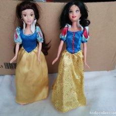 Barbie y Ken: OCASION COLECCIONISTAS ! LOTE 2 MUÑECAS DE BLANCANIEVES BARBIE MATTEL 1999 Y LA VERSION DE SIMBA. Lote 263128785