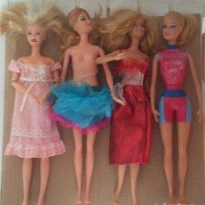 Barbie y Ken: LOTE DE 27 MUÑECAS BARBIE,SIMBA,MONSTER...+ BOLSO BELROS TAL Y COMO SE VEN EN LAS FOTOS. Lote 277287258