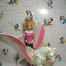 Barbie y Ken: BARBIE CON CABALLO. Lote 263258790