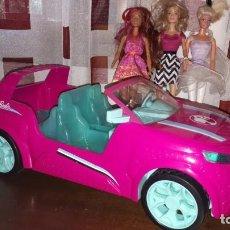 Barbie y Ken: 3 BARBIE Y COCHE DE MATTEL DE LOS AÑOS 1975-2013-2015. Lote 266427208