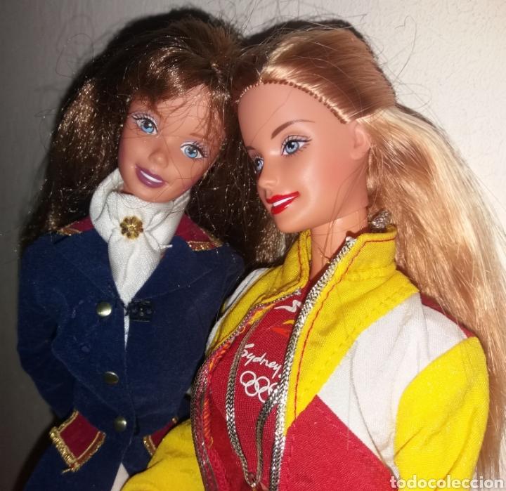 Barbie y Ken: LOTE 2 BARBIE DE MATTEL: HORSE RIDING SUPERSTAR ERA 1997 Y OLIMPIADAS SYDNEY ESPAÑA 1999 - Foto 3 - 266434398