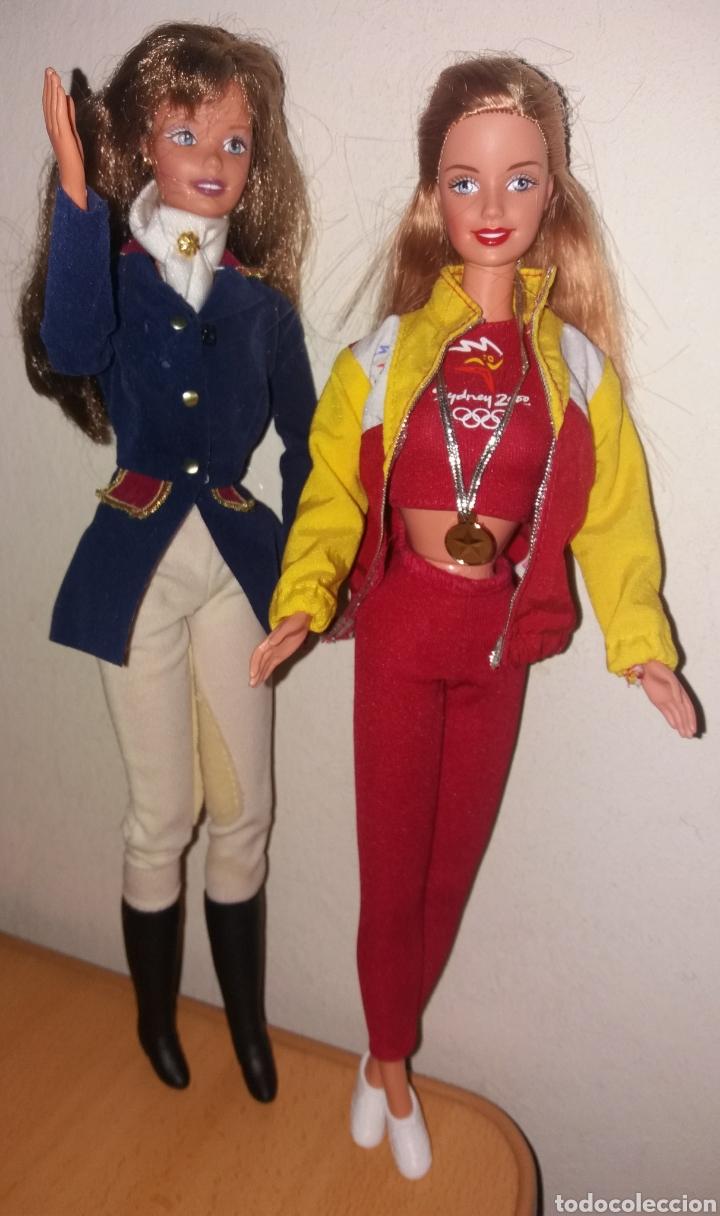 Barbie y Ken: LOTE 2 BARBIE DE MATTEL: HORSE RIDING SUPERSTAR ERA 1997 Y OLIMPIADAS SYDNEY ESPAÑA 1999 - Foto 4 - 266434398