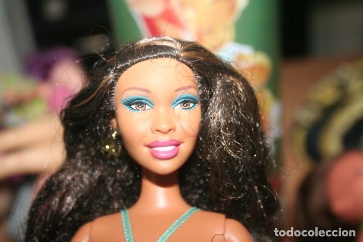 Barbie y Ken: muñeca barbie mulata 2001 articulada - Foto 3 - 268718509
