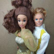 Barbie y Ken: LOTE BELLA Y BESTIA AÑOS 90 MATTEL VINTAGE BARBIE. Lote 269379483