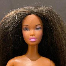 Barbie y Ken: BARBIE NEGRA DESNUDA DOLL NUDE. Lote 269985878