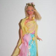 Barbie y Ken: MUÑECA BARBIE CON VESTIDO DEL MUNDO - SAMOA - EL VESTIDO NUEVO - MATTEL 1991 - TODO EN BUEN ESTADO. Lote 276096988