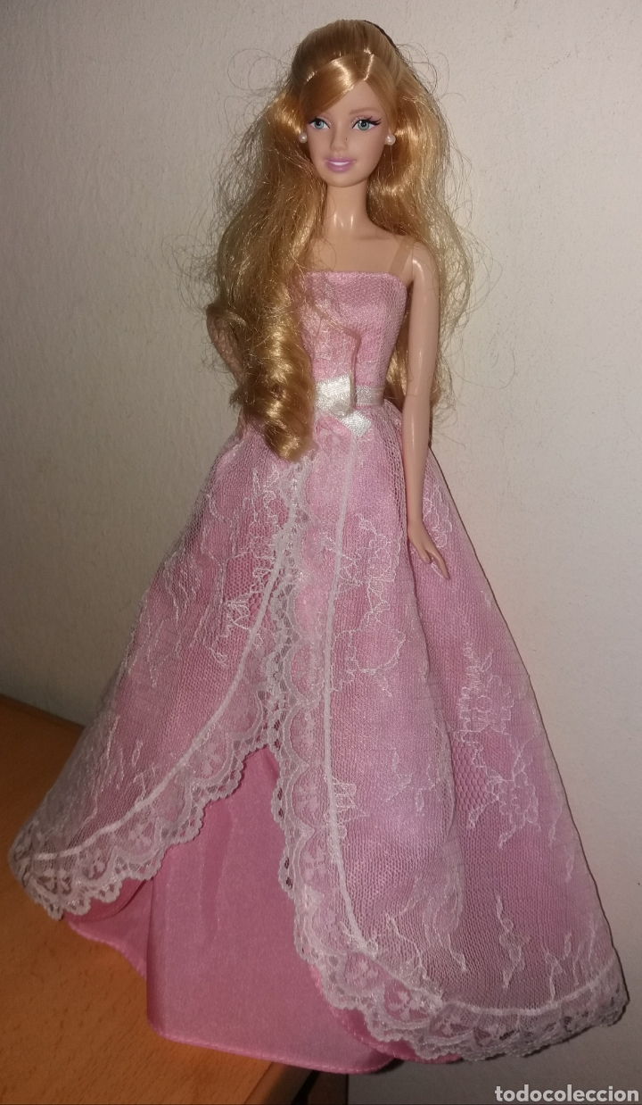 Barbie y Ken: BARBIE DE MATTEL MODEL MUSE COLLECTOR BIRTHDAY WISHES 2015 - Foto 6 - 268726034