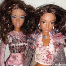 Barbie e Ken: LOTE 2 BARBIE DE MATTEL 2004: CHRISTIE FASHION SHOW Y LEA CALI GIRL - ROPA MY SCENE Y DESCENDIENTES. Lote 276581253