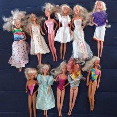 Barbie y Ken: 3 BARBIES A ELEGIR DE ESTE FANTÁSTICO LOTE DE 11 BARBIES Y 4 KEN. Lote 277258638