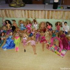 Barbie y Ken: GRAN LOTE 31 BARBIE. Lote 277645033