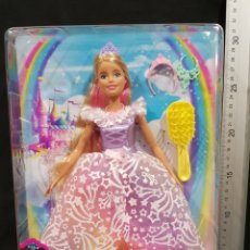 Barbie y Ken: MUÑECA BARBIE PRINCESA DREAMTOPIA MATTEL 2018. Lote 278853958