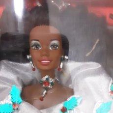 Barbie y Ken: BARBIE ESPECIAL NEGRITA BLACK HAPPY HOLIDAYS 1995. Lote 283183608