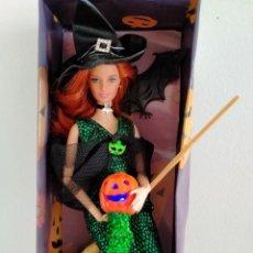 Barbie y Ken: BARBIE BRUJA HECHICERA DE HALLOWEEN. Lote 283510503