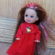 Barbie y Ken: SHELLY BARBIE MECHAS. Lote 283887963