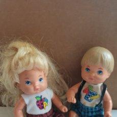 Barbie y Ken: BEBES FAMILIA CORAZON DE MATTEL 1976. Lote 284047213