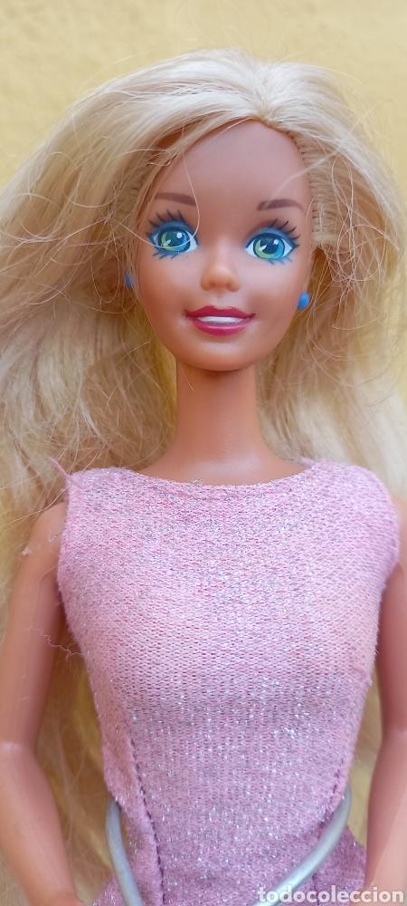 Barbie y Ken: MUÑECA BARBIE MATTEL 1976 CABELLO RAYA AL LADO - Foto 5 - 284152648
